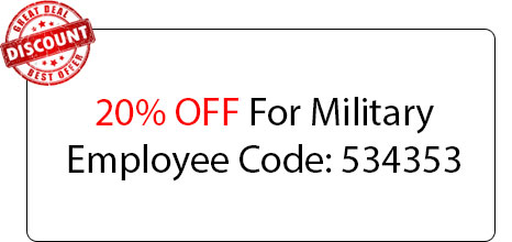 Military Employee Discount - Locksmith at Woodstock, IL - Woodstock Il Locksmith