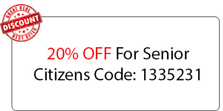 Senior Citizens Discount - Locksmith at Woodstock, IL - Woodstock Il Locksmith